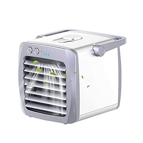 GFDFD Aire Acondicionado Aire Cooler Mini Fan AirConductionador Portátil para Habitación Home Air Enfrineramiento Desktop USB Cargando Aire Acondicionado Ventilador