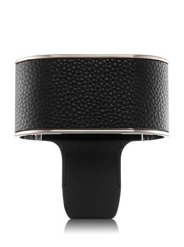 【Bath&Body Works/バス&ボディワークス】 ルームフレグランス プラグインスターター デュオプラグ (本体のみ) ブラックレザー Scent Switching Wallflowers Duo Plug Black Leatherette [並行輸入品]