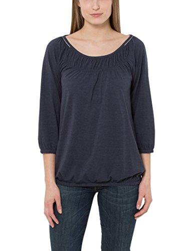 Berydale Damen Shirt mit Carmen-Ausschnitt, Gr. 40, Blau