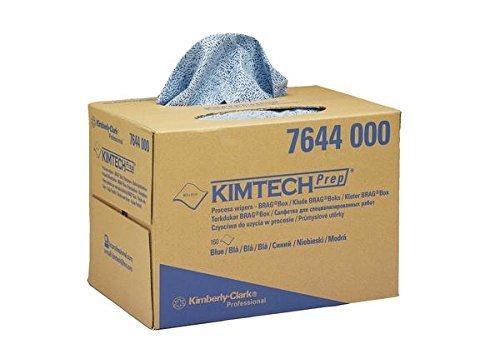 KCP 7644 Kimtech proceswisserdoeken, BRAG Box, blauw (160-pack)