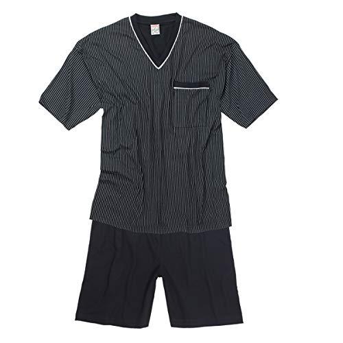 ADAMO Fashion Übergrößen Shorty/kurzer Pyjama dunkelblau, XL Größe:3XL
