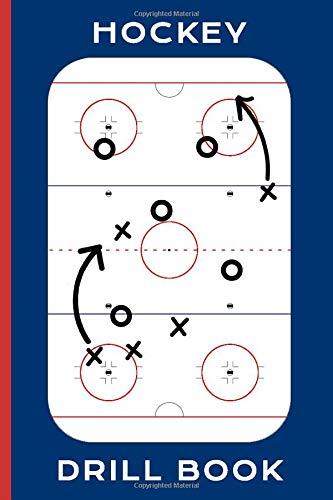 Hockey Drill Book: Hockey Playbook - Portable 6x9