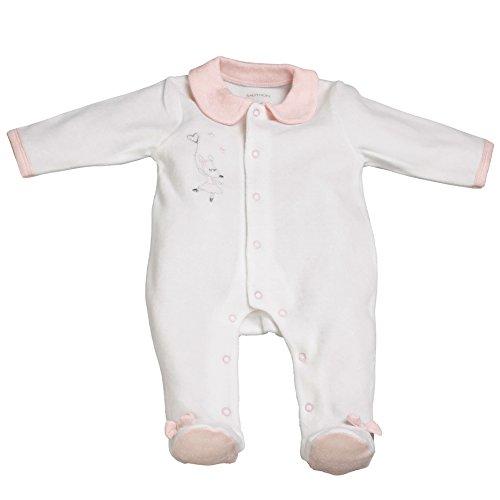Pyjama bébé blanc naissance Lilibelle - Sauthon