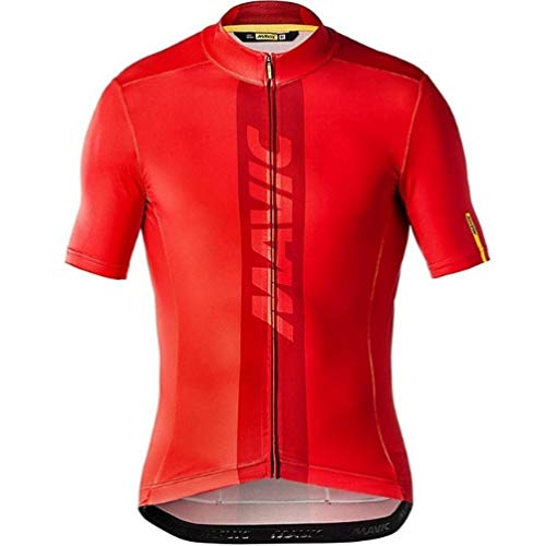 HappyL Team Summer Jerseys Bike Shirt Men S Cycling Jersey Ciclismo Bicicleta Sportswear Maillot Ciclismo (Color : 3.5 UK, Size : XX-Large)