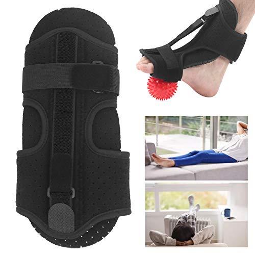 Tobillera, maximiza la extensión de la cáscara de la Espalda del cojín Soporte para Fascitis Plantar con una Bola de PVC para caída del pie para varo para valgo del pie