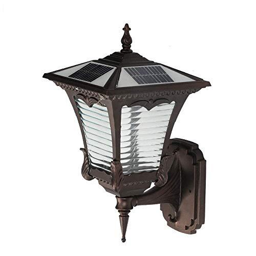 Nanyun Solar-wandlamp, buitenverlichting, LED-licht, controle van de lichtsensor, wandlamp, waterdicht, super helder, zonnelicht, tuin, villa, decoratief licht