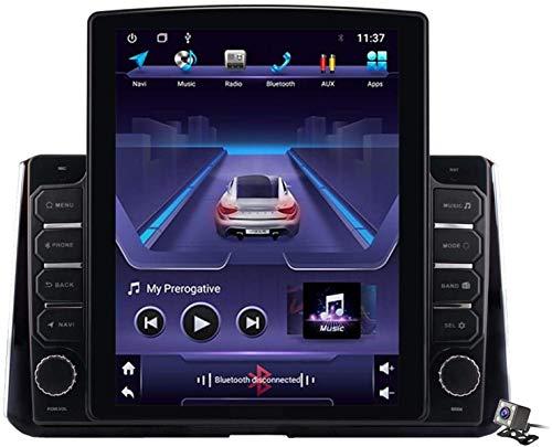 LYHY Android 9.1 Stereo GPS Navigation Vertikaler Bildschirm 9,7 Zoll Für Toyota Corolla 2019-2020 Eingebauter Videoplayer und AutoRadio, unterstützt FM DSP USB/Bluetooth Anruf KOSTENLOS Hand usw.