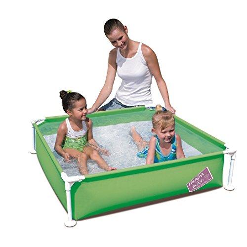 Bestway 56217My First Niños Baby planschbecken Frame Pool 1,22x 1,22x 30,5m, verde