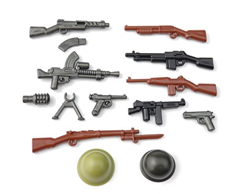 BrickArms WW2 Pacific Set di Armi Custom Arma, per Le Figure Lego