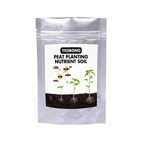 anne210 Aussaaterde Qualitäts Anzuchterde Schnelle Überlegene Pflanzliche Nahrung Torfpflanzung Nährstoffboden Natürliche Bonsai-Baumbodenmischung 0,5 L / 1 L