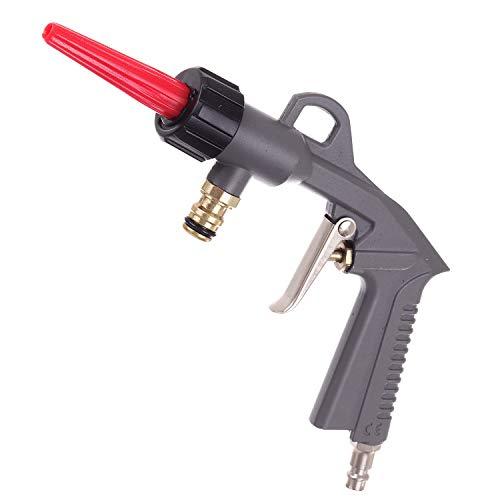 Het beste luchtwaterreinigingspistool voor compressor en tuinslang, drukreiniger voor standaard tuinsnelle koppeling