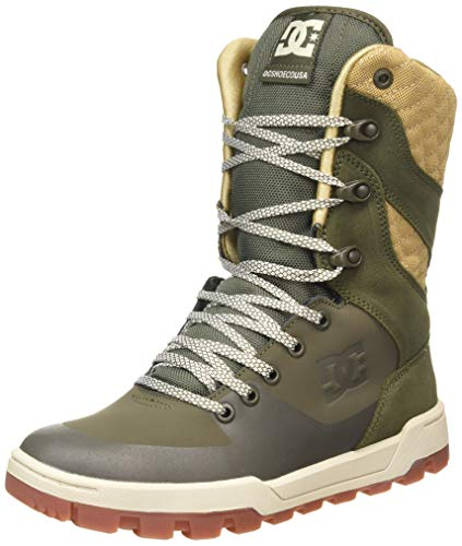 DC Shoes Nadene Boot, Zapatillas Mujer, Olive, 37 EU