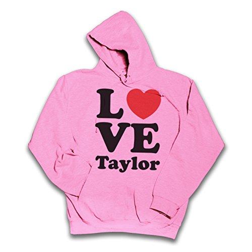 Sherbet Dip Kapuzenshirt Love Taylor- Gr. Small, rose