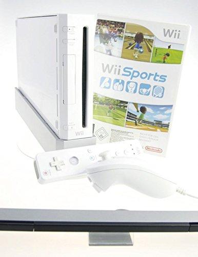 Nintendo Wii Konsole in weiss mit Wii Sports