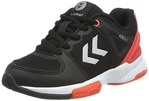 Hummel Aerocharge Hb200 Speed 3.0 Jr, Zapatillas de Balonmano Unisex Adulto, Negro (Phantom 2021), 37 EU