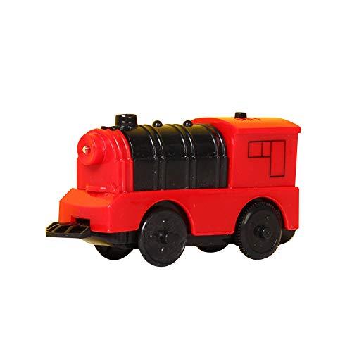 ISAKEN Tren de locomotora con pilas, potente tren de alta velocidad para...