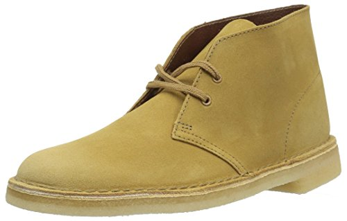 Clarks Men's Desert Chukka Boot, Oak Suede, 110 M US