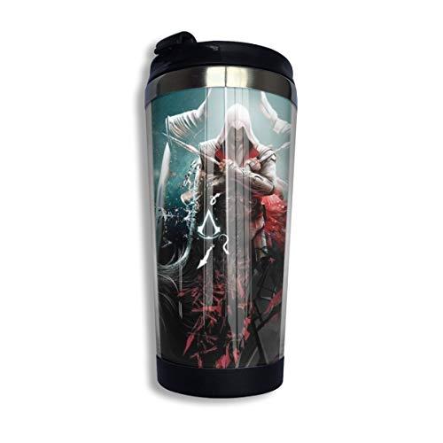 Assassin's Creed Kaffeebecher, Thermosglas mit Deckel