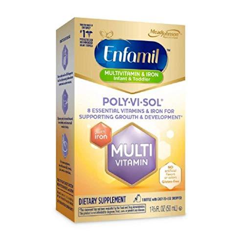 Enfamil Poly-vi-sol Supplement Drops, Multivitamin for Infants &...