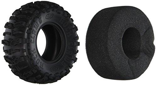 Losi Front/Rear Rock Claws 2.2 Tires w/ Foam, Blue (2), LOSA7682B