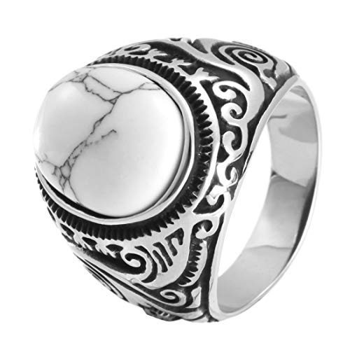 Rany&Roy Hombre Mujer Unisex stainless steel acero inoxidable Blue Black White Turquoise