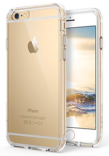 Ringke Fusion Diseñado para Funda Apple iPhone 6s, Carcasa iPhone 6 Transparente al Dorso Protección Resistente Impactos - Clear