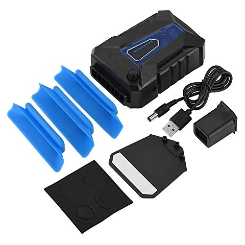 Socobeta Mini Laptop Cooler 5V Extracción de Aire USB Laptop Notebook Cooler Ventilador Refrigerador para Laptop