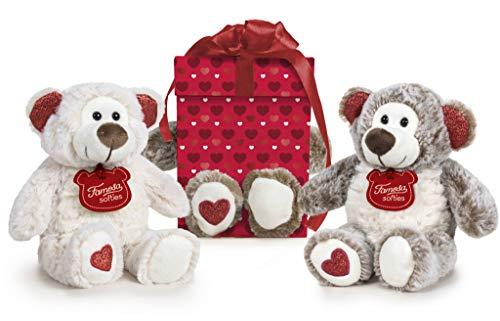 Famosa Softies - Peluche Happy Valentine 32cm con Relleno Reciclado, para niños y niñas a Partir de 0 años (760019736)