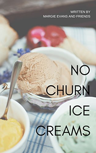 No Churn Ice Creams by [Margie Evans]