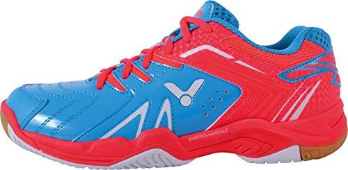 Victor , Chaussures de Badminton pour Homme Rose Bleu/Rose - Rose - Bleu/Rose, 36 EU