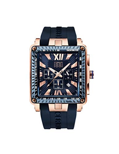 Cerruti 1881 CRA012SRBL03DBL Montre à bracelet pour homme