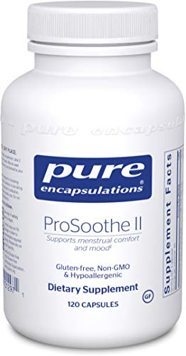 Pure Encapsulations - ProSoothe II - Hypoallergenic Supplement Supports Menstrual Comfort, Mood, Fatigue and Helps Lessen Cravings* - 120 Capsules