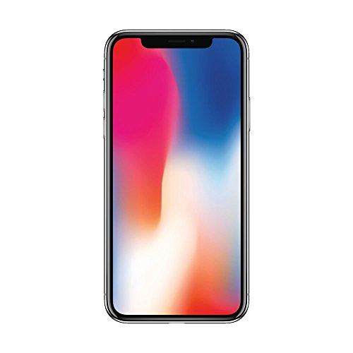 Apple iPhone X, 64GB, Space Gray - For Sprint (Renewed)