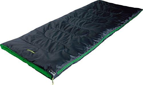 High Peak Patrol Saco de Dormir, Rosa (Antracita) / Verde, 190 x 80 cm