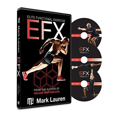 MARK LAUREN Bodyweight Workout DVD EFX | Calisthenics DVD