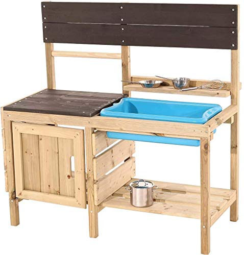 TP Toys Muddy Maker Mud Kitchen - Outdoor Kitchen Playset for Kids