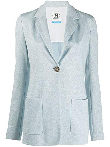 Luxury Fashion | Missoni Dames 2DF000422J001TL701X Blauw Viscose Blazers | Lente-zomer 20