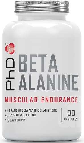 PhD Nutrition Beta Alanine & L-Histidine Supplement, 90 Capsules