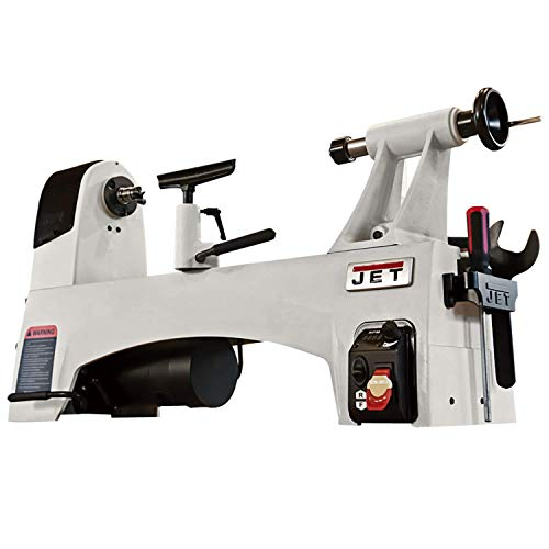 JET JWL-1221VS 12'x21' Variable-Speed Wood Lathe (719200)