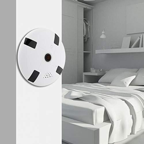 SALUTUYA Cámara Panorámica Inalámbrica WiFi Detección Móvil Práctica Fácil De Conectar,(100-240V European Standard)