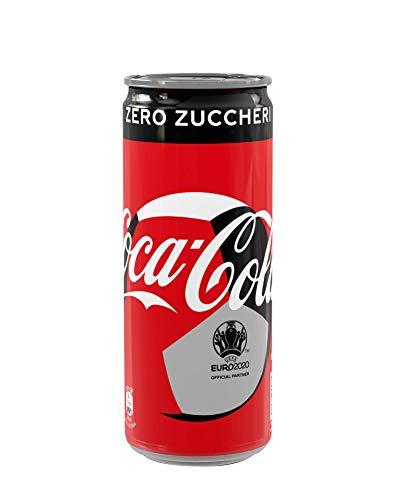 COCA-COLA ZERO 330 ml - 4 lattine