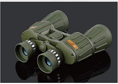 FZMT Binoculares 10X50 Telescopio Profesional Potente Binocular Alemania HD Bak4 Alcance para