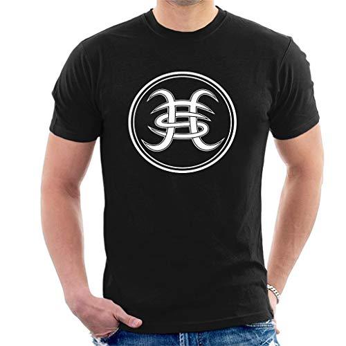 DIANXIAOERR Hombre Heroes del Silencio White Logo Easy Short Sleeved Camiseta/T-Shirt