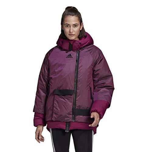 adidas Women's Down Jacket C.R., Power Berry, XL