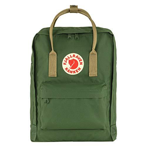 Fjällräven Unisex-Adult Kånken Sports Backpack, Spruce Green-Clay, One Size