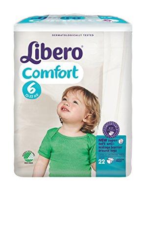 Libero Comfort XL Gr. 6, 13 - 20 kg, 8 x 22 = 176 Stück