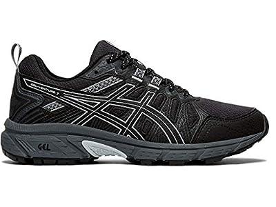 ASICS Women's Gel-Venture 7 (D) Shoes, 11W, Black/Piedmont Grey