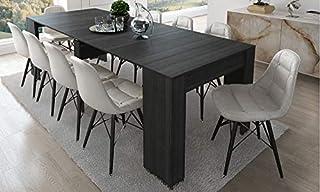 Home Innovation - Table Console Extensible, rectangulaire avec rallonges, jusqu'à 237 cm, pour Salle à Manger et séjour, C...