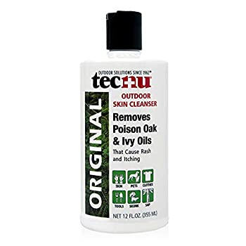 Tecnu Original Outdoor Skin Cleanser First Step in Poison Oak and Ivy Treatment 12 Ounces
