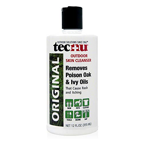 Tec Labs Tecnu Original Poison Oak & Ivy Outdoor Skin Cleanser - First Step in Poison Ivy Treatment, 12 fl oz (pack of 1)